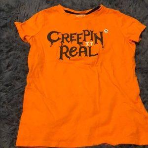 Halloween shirt.